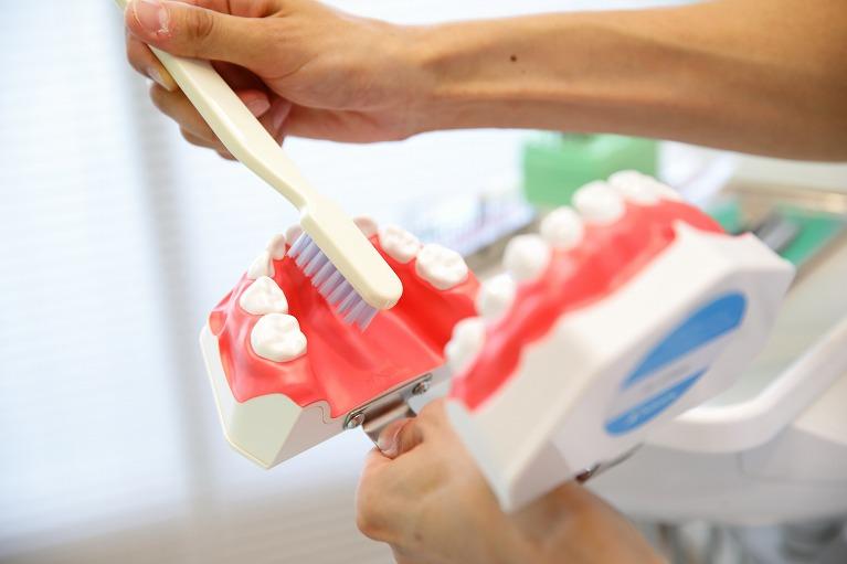 歯ブラシを使ったブラッシング・歯磨き